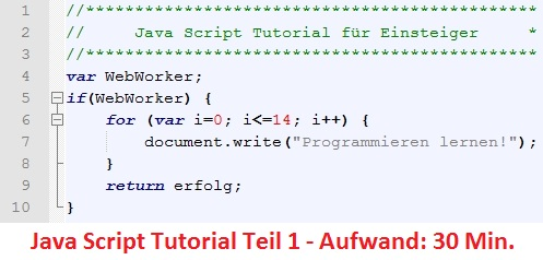 java-script-tutorial-teil-1