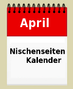 Nischenseiten-Kalender April
