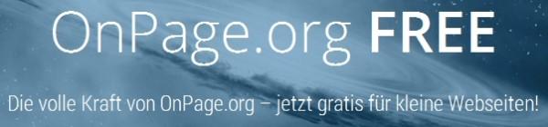 onepage.org kostenlos